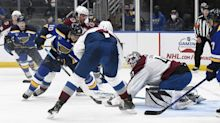 Avalanche overcome adversity, defeating the Blues 4-3 in St. Louis |