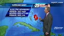 First Alert Forecast: 'Relatively quiet' in Palm Beach County