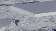 NASA discovers HUGE perfectly rectangular iceberg floating in Antarctica