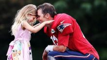 Tom Brady calls his daughter 'Daddy's little Girlie Girl' and the internet can't handle the cuteness