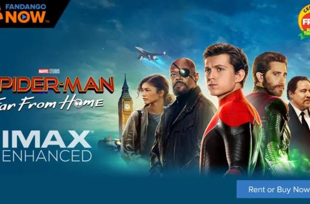FandangoNow streams IMAX Enhanced 'Spider-Man' on Sony 4K TVs