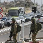Israeli troops arrest dozens in West Bank raid