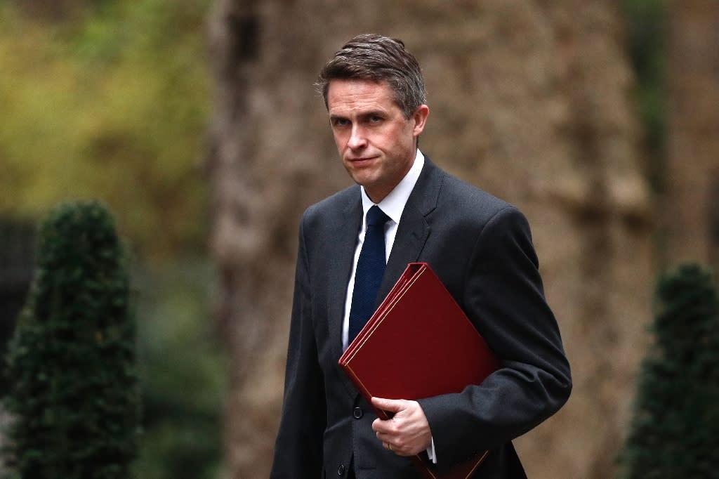 Gavin Williamson has been sacked as defence secretary