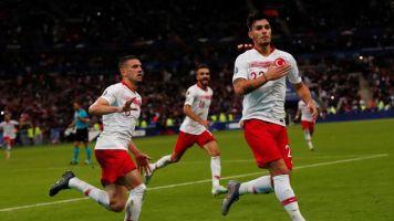 1-1 Turquía arranca un empate en el Estadio de Francia