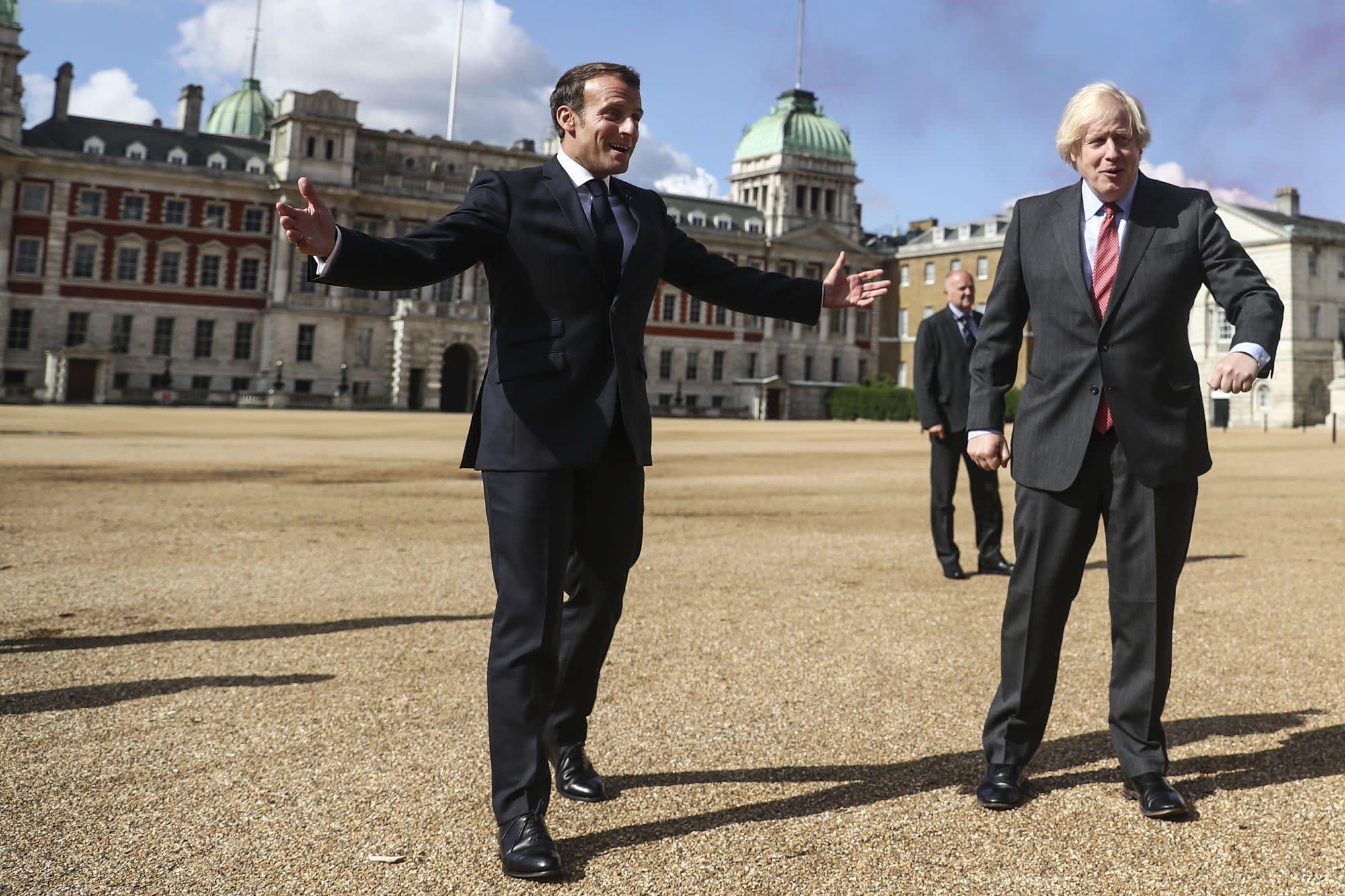 Macron E Curinga Em Tentativa De Acordo De Reino Unido Com Ue