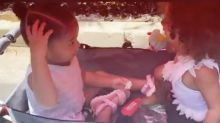 Chicago West Just Complimented Stormi's Hair in an Adorable Video