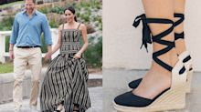 Meghan Markle's espadrille wedges are on sale for 20% off right now