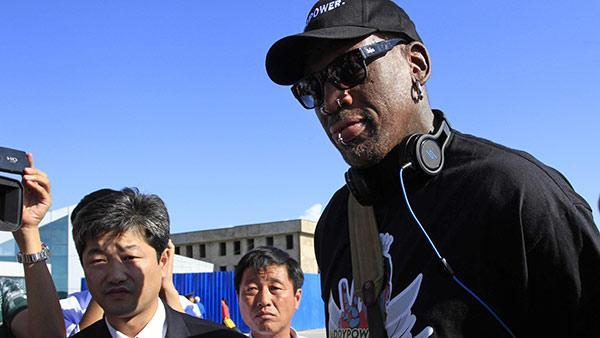 Rodman in North Korea to visit his 'friend' Kim