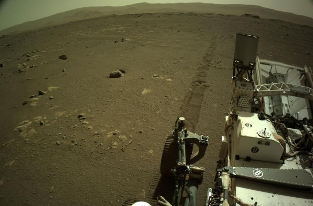 Perseverance recording reveals what driving on Mars sounds like