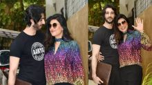 Sushmita Sen Spotted with Boyfriend in Romantic Look