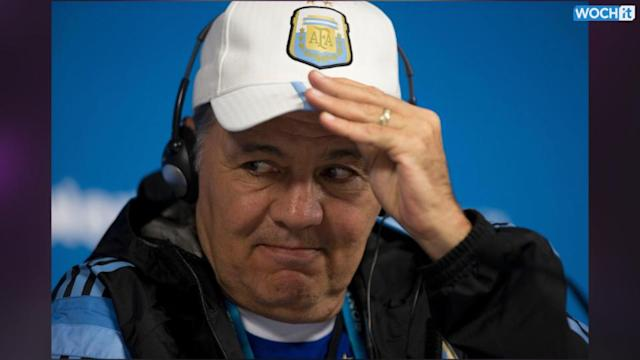 Argentina Coach Won't Reveal Lineup