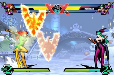 How UMvC3's Vita touch controls work