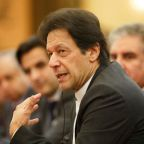 Pakistan's Prime Minister Khan in Iran to talk security, ties