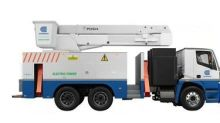 First-Of-Its-Kind All-Electric Utility Bucket Truck Makes Clean Energy Breakthrough