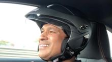 Video: Sachin Tendulkar enjoys driving a BMW around an F1 track