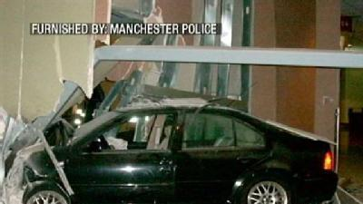 Car Crashes Into Verizon Arena After Chase