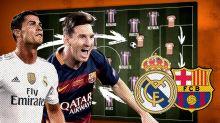 Real Madrid vs Barcelona - Tactics Behind El Clasico - Copa90 & Top Eleven Animation