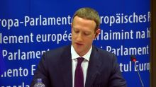 "Facebook's Zuckerberg says ""I'm sorry"""