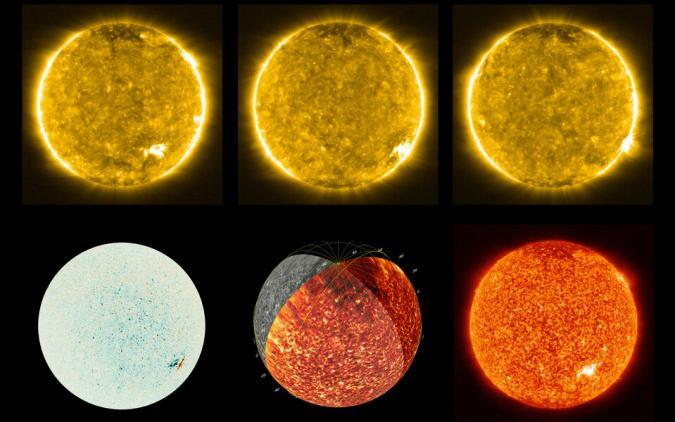 Solar Orbiter's first Sun images