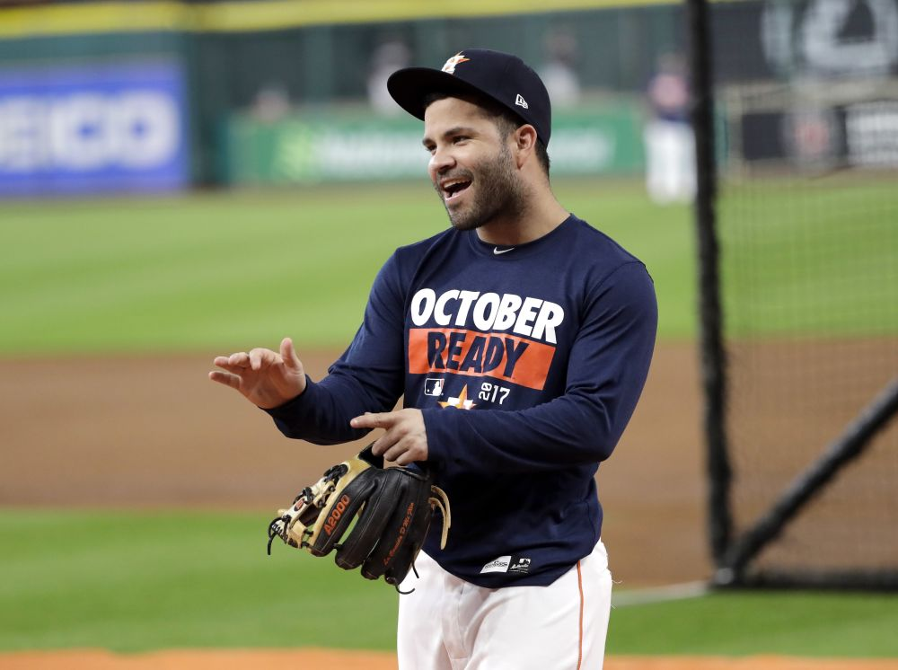 Jose Altuve is an MVP candidate this season and might be the key to Houston's October. (AP)