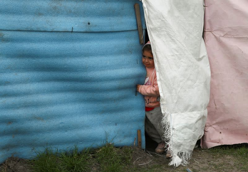 Families occupied a land on the outskirts of Buenos Aires, amid the outbreak of the coronavirus disease (COVID-19)