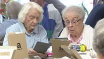Fresno seniors receive Kindles
