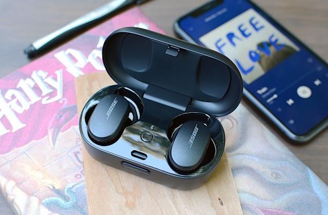 Bose adds swipe volume controls to its QuietComfort and Sport Earbuds