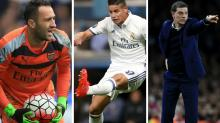 Gossip: Real Madrid asked to 'lower Rodriguez price' for Man Utd, Ospina 'wants Arsenal exit', Bilic 'fighting for his job'