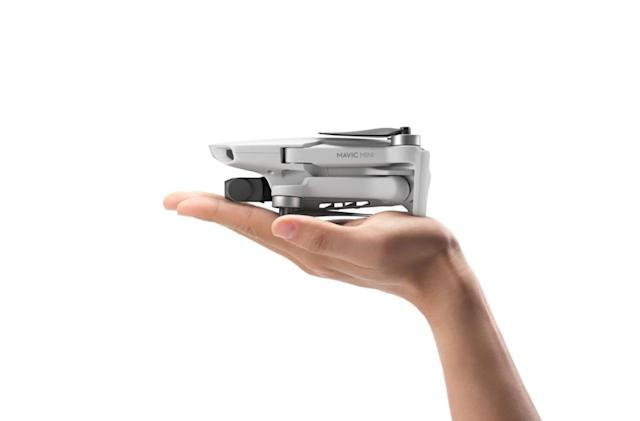 DJI's Mavic Mini is so small it doesn't require FAA registration