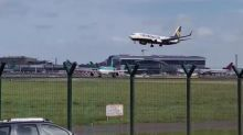 Storm Ali: Ryanair plane forced to abort landing at Dublin Airport