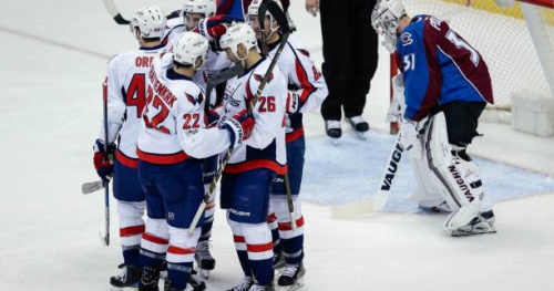 Hockey - NHL - NHL : Washington domine Colorado et accentue son avance