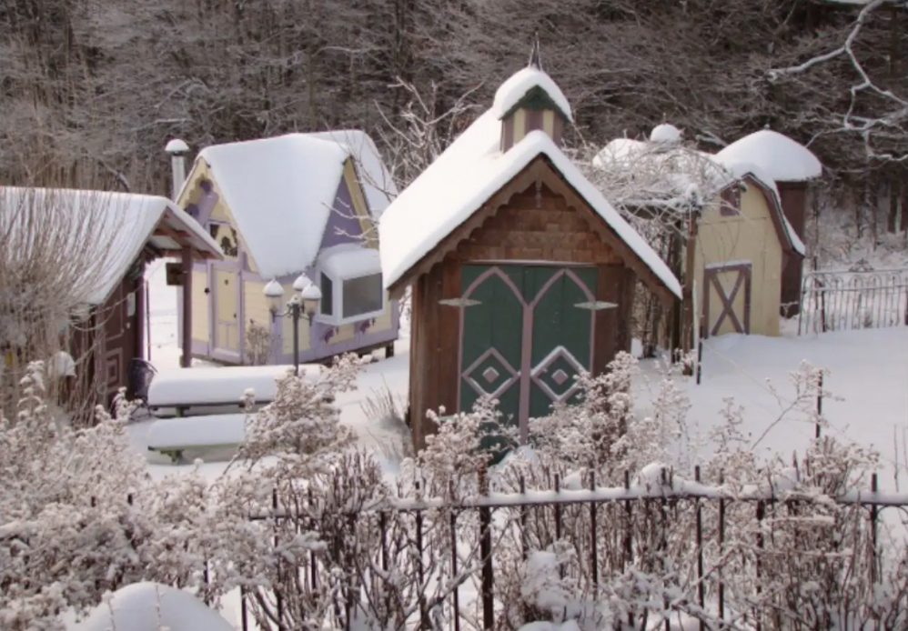 A village of tiny Victorian homes offers a life-changing experience