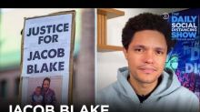 Trevor Noah asks why police shot Jacob Blake but not Kyle Rittenhouse