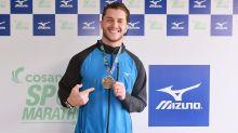 Klebber Toledo completa meia maratona e comemora: 'Superando limites'