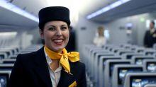 Beauty über den Wolken: So kommt man frisch aus dem Flugzeug