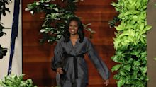 Michelle Obama Just Wore a Really Great Wrap Coat