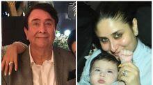 Randhir Kapoor on grandson Taimur Ali Khan resembling him: Whether it's his blue eyes or his looks, he definitely has the Kapoor genes