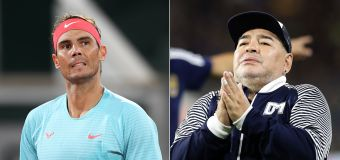 Nadal leads global sporting tributes to Maradona