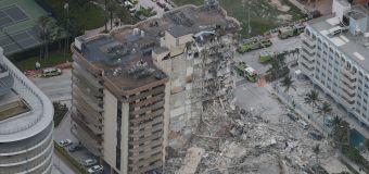 Assista ao momento em que prédio desmorona em Miami