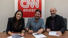 Mari Palma e Phelipe Siani assinam contrato com a CNN Brasil