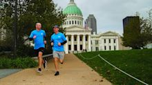 Two running buddies pick up the pace with Meredith wellness program