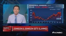 Johnson & Johnson just posted its worst day since 2002