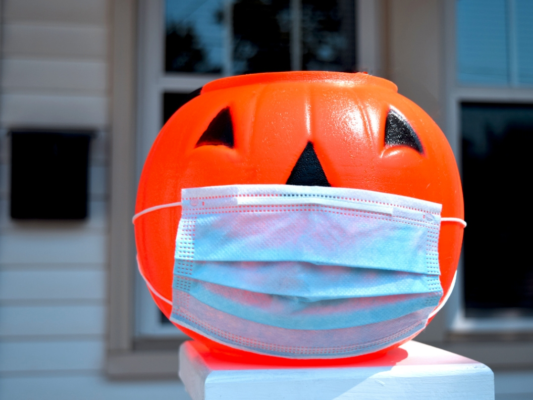 Suggestions for celebrating Halloween at home this year include having a candy scavenger hunt around the house.