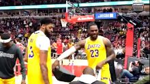 LeBron James Shames Heckler At Lakers-Bulls Game