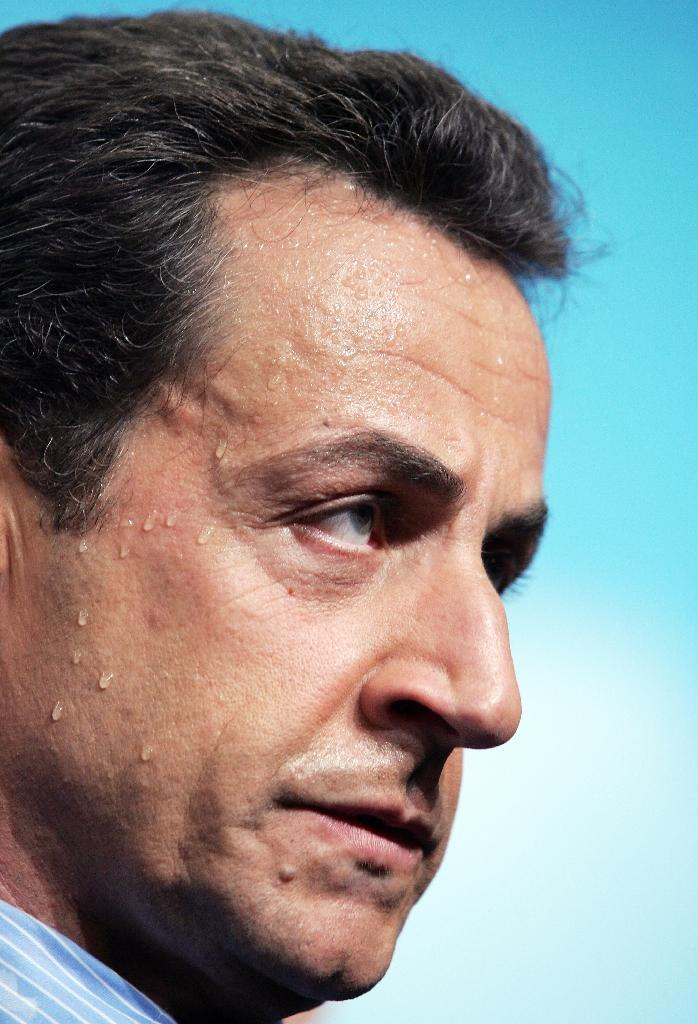 Investigating magistrates have recommended that Sarkozy face trial on separate charges of illegal campaign financing over his failed 2012 re-election bid. (AFP Photo/Thomas COEX)