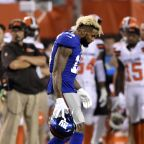 Beckham Jr. dodges serious injury in Giants' loss to Browns