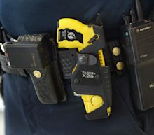 Brooklyn Center Police Chief says 'we train with our handguns on our dominant side and our Taser on our weak side,' casting doubt on 'accidental discharge' theory