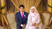Why this Muslim bride wore no makeup or jewelry at her wedding