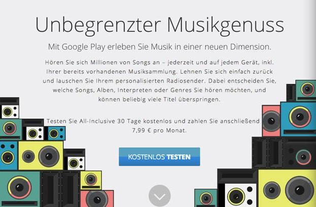 Google Play Music All Access gets Handy in Germany