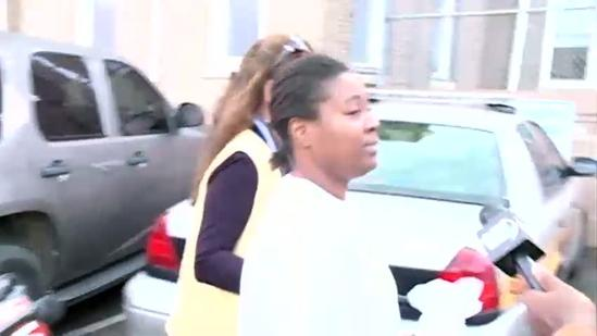 Woman charged in Sharkey slayings says she's not guilty